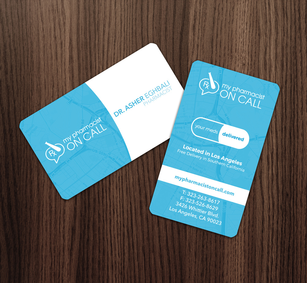 NVISION Creative | Business Card Design
